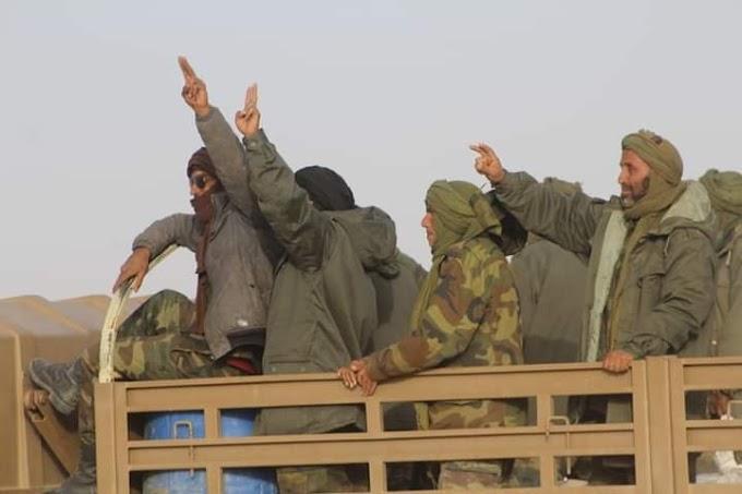 ⭕ URGENTE | Miles de saharauis toman las calles de los campamentos para recibir a sus héroes de la guerra.