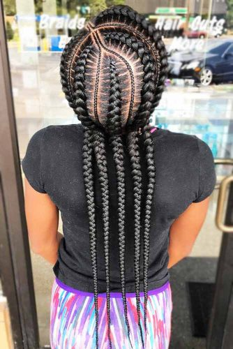 perfect straight braid hairstyle for black women 2018 2019 1