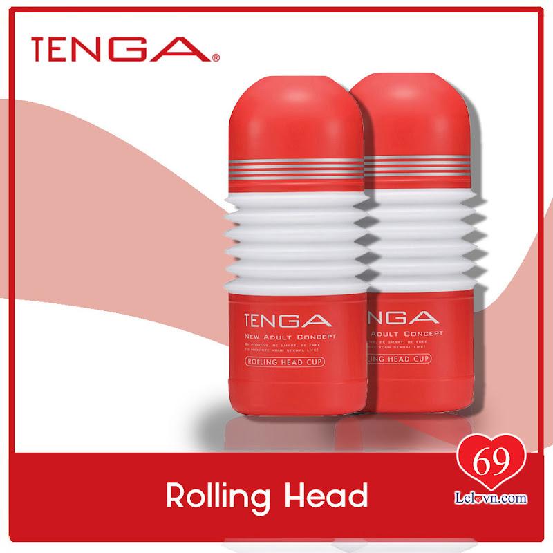 Tenga Rolling Head Cup có thiết kế đơn giản, đẹp mà hiệu quả