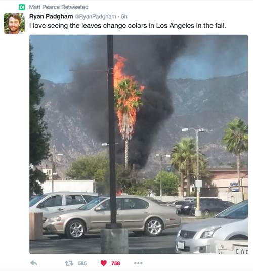 Meanwhile, in LA