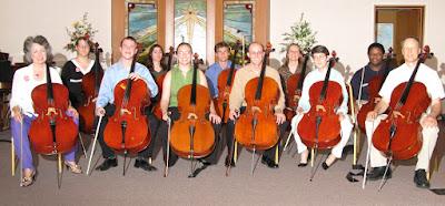 Cellobration Ensemble June 2007 Cancer Center Benefit Concert