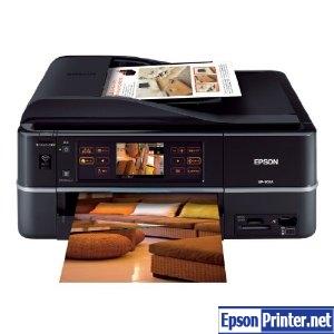 Reset Epson EP-903A laser printer with program