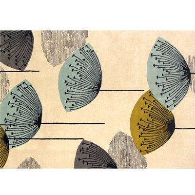 Sanderson Dandelion Clocks Rug Multicoloured
