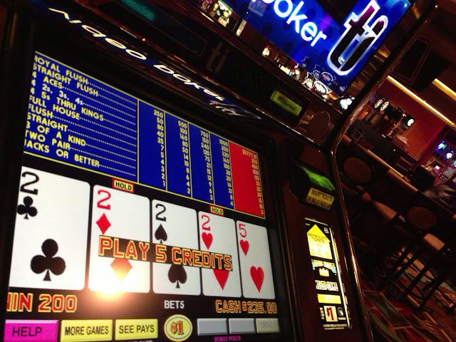 T.I. Video Poker