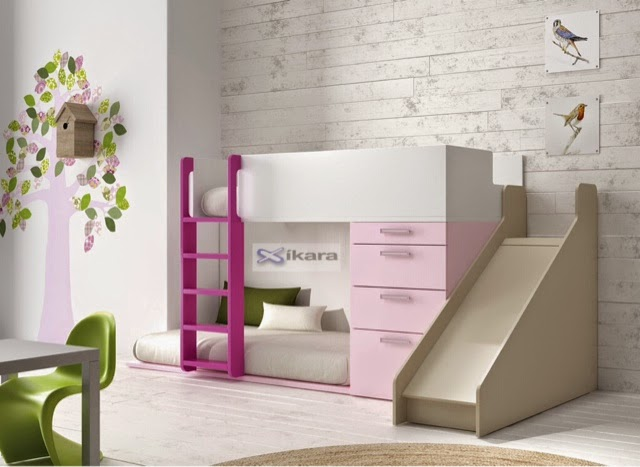 Camas infantiles divertidas - Camas dormitorios infantiles ...