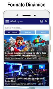 News Argentina. Noticias y Diarios - náhled