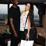 WWW.ENTSIMAGES.COM -  Mason and Maria Kouka    at     The Bloggers Love Collection - fashion show The Penthouse, 1 Leicester Square, London August 22nd 2013                                                   Photo Mobis Photos/OIC 0203 174 1069