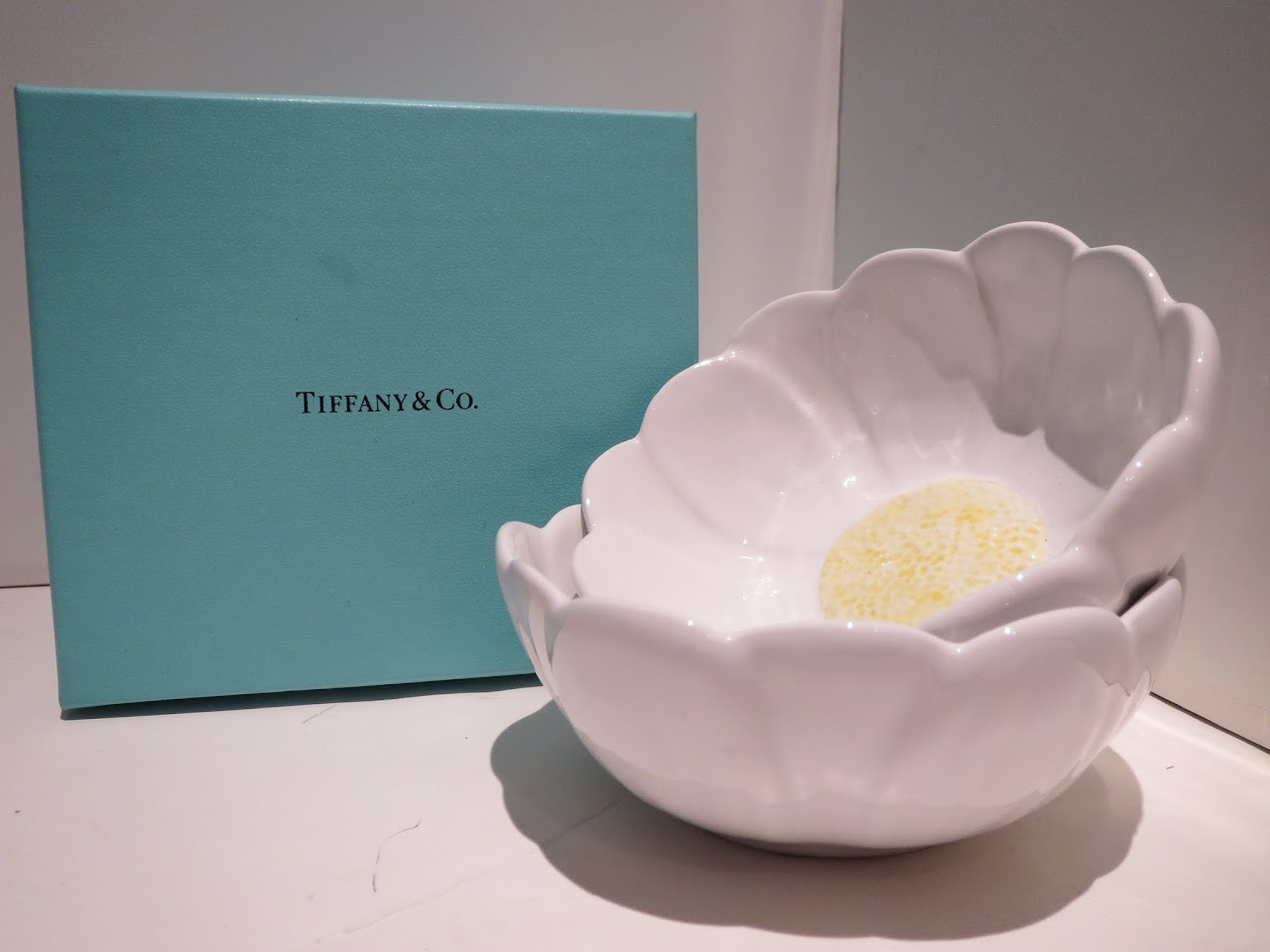 Tiffany & Co. Flower Bowl Duo