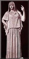 Θεά Εστία,θεά της οικίας και του σπιτιού,οικογενειακή θαλπωρή,ολύμπιοι θεοί