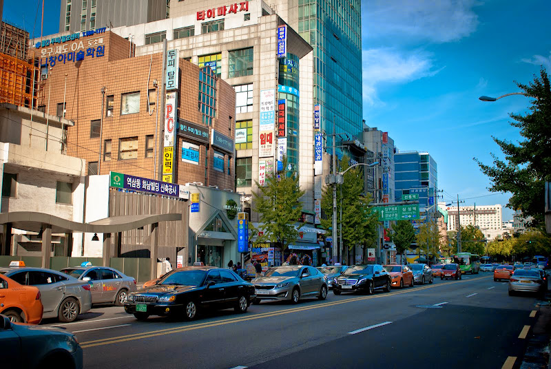 Korea, Seoul, Gangnam district