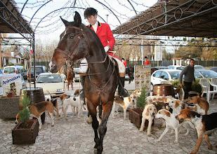 Photo: Arrivo della caccia a cavallo
