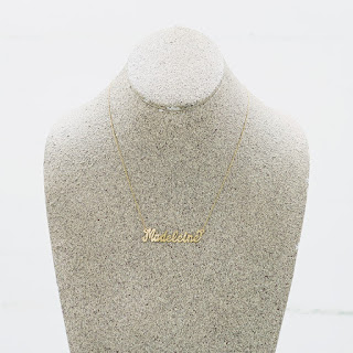 "14 K Gold ""Madeleine"" Necklace"