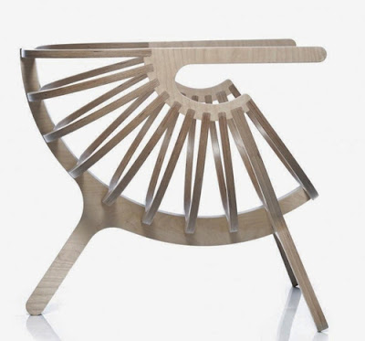 unique plywood chair branca 2 Kursi Unik Dari Kayu Lapis