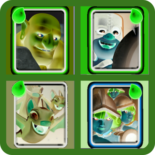 Cards from -CR- (game)