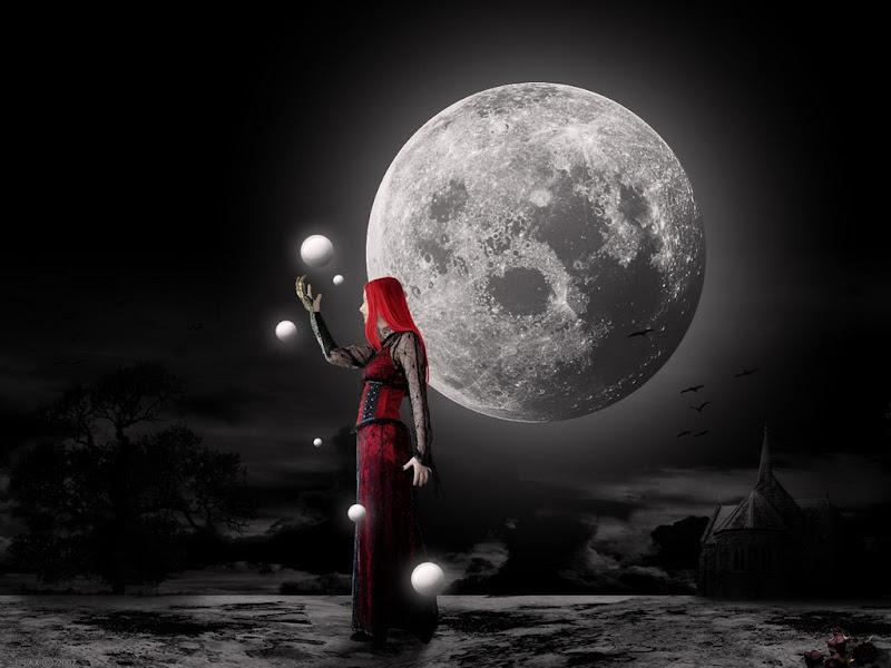 Moon Magic In Hands, Moon Magic