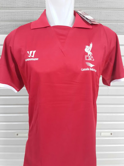 Jual Polo Liverpool Merah 2014-2015