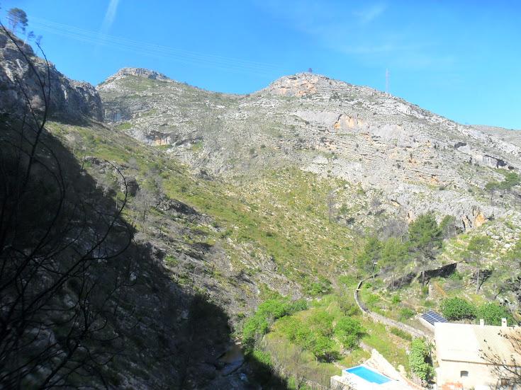 zona de Escalada Barranc dels Tarongers Sector Granainos 2 4
