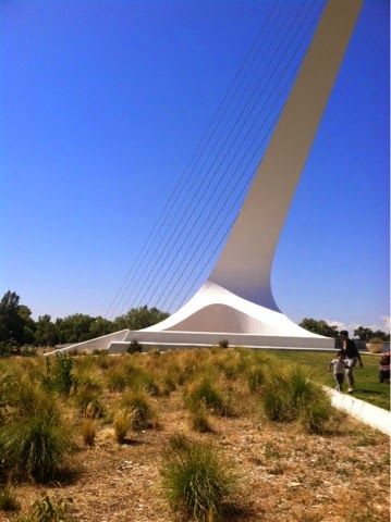 Sundial Bridge in Redding, California