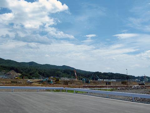 JR東日本「大船渡線BRT」 1778 観光型BRT「海」 車窓 その1