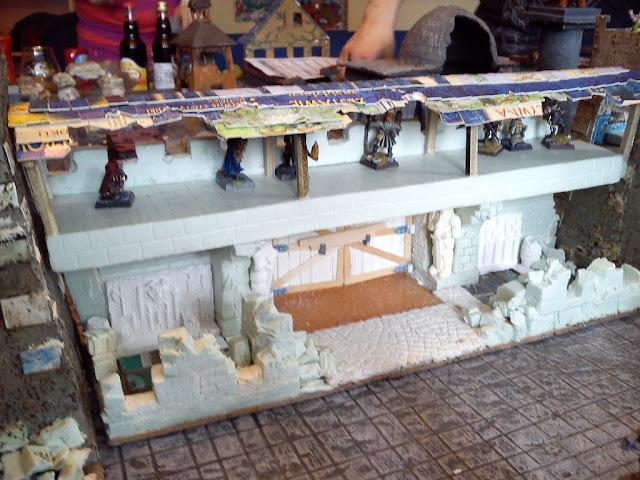 Dwalthrim's smithy - my table and terrain Mordheim_w_komorowie_20