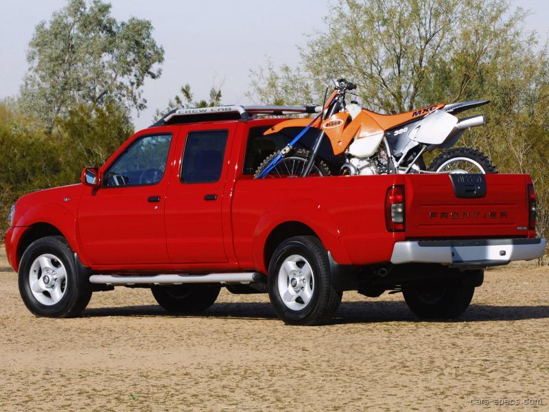 2001 nissan frontier crew cab specifications pictures prices. Black Bedroom Furniture Sets. Home Design Ideas