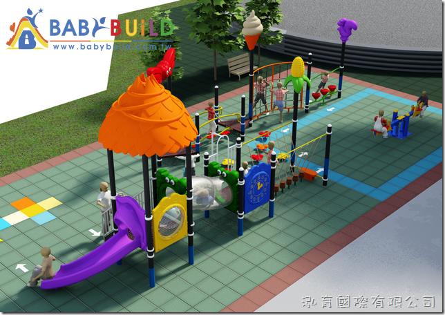 BabyBuild 兒童體適能遊戲場