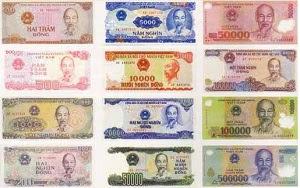 Mengenal mata uang negara Vietnam Dong