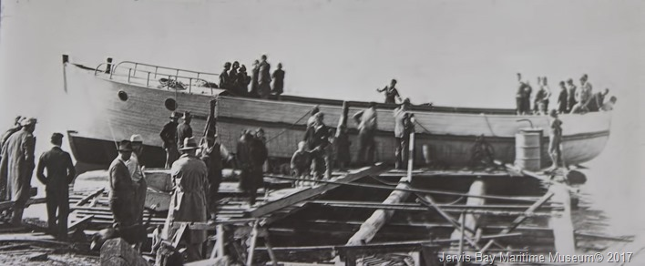 launching--of-phyllis-1934-built-frank-dent