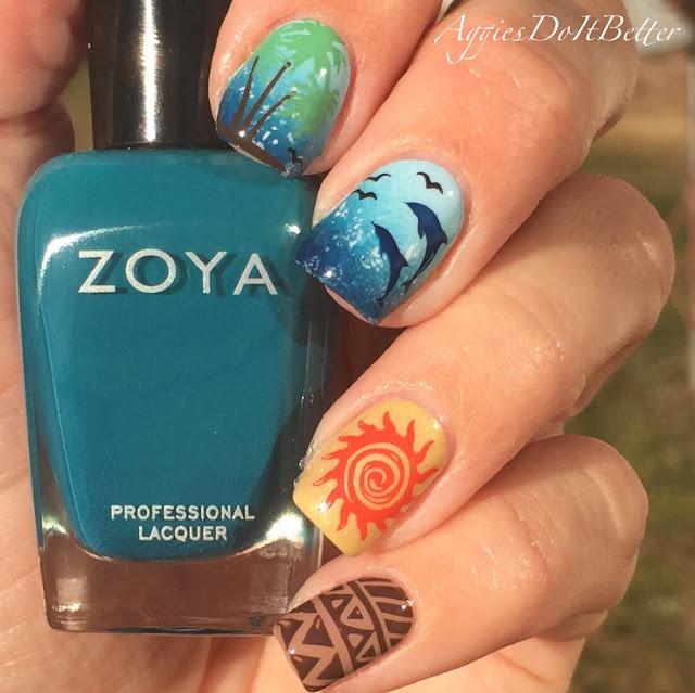 Moana Disney Nails Designs: Joy Studio Design Gallery - Best Design
