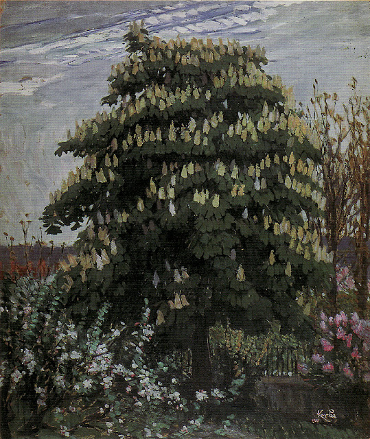 František Kupka - Horse Chestnut Tree in Bloom