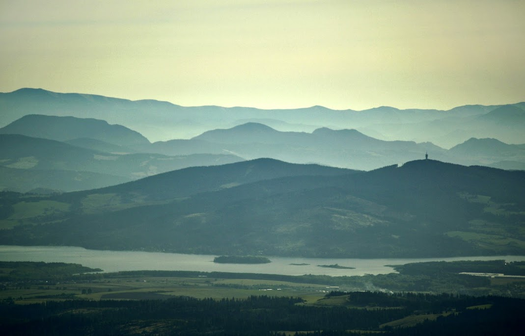 Jezioro Orawskie i Magurka Orawska