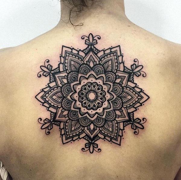 este_ornamentais_mandala_flor_da_tatuagem