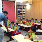 Carpenter Visit to School at Witty World, Bangur Nagar 2017-18