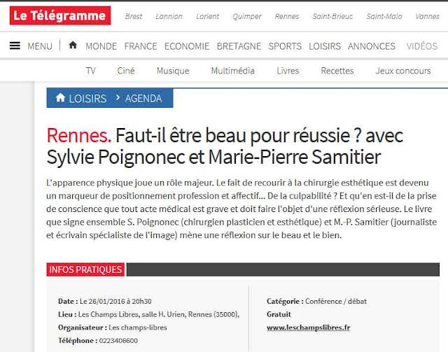 © Le Télégramme article de presse