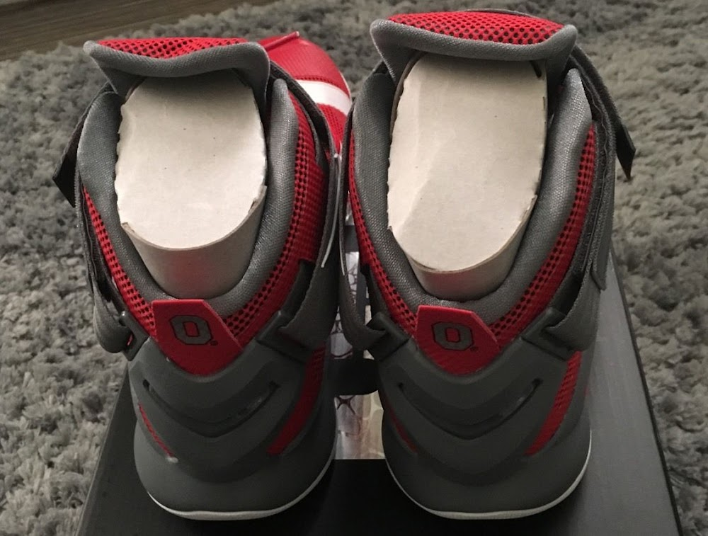 new styles 587a2 3bb41 Nike LeBron Soldier 9 Ohio State University Might Drop Soon .