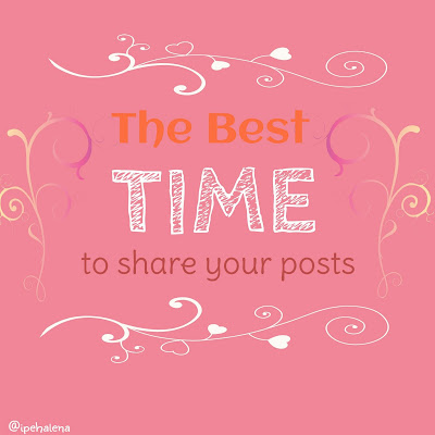 Best time to share blogpost
