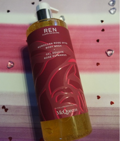 ren moroccan rose body wash