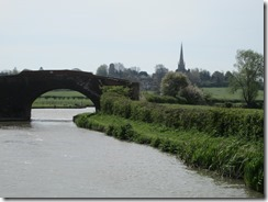 Napton Church in the distance
