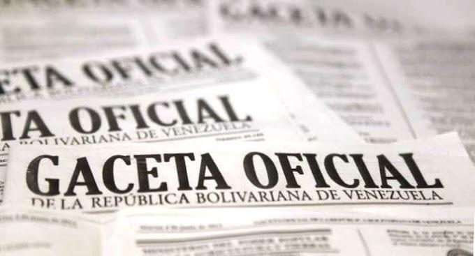 GACETA OFICIAL DÍAS DE RACIONAMIENTO ELÉCTRICO EN VENEZUELA