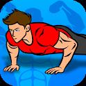 Push Ups Workout : pushup challenge icon