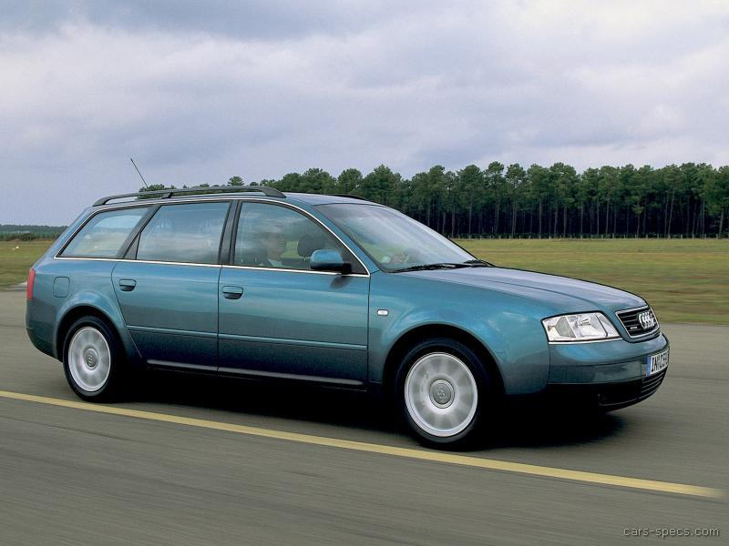 1998 audi a6 wagon specifications pictures prices. Black Bedroom Furniture Sets. Home Design Ideas