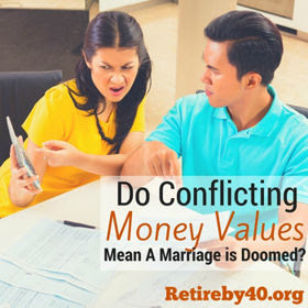 Conflicting Money Values = Bad Marriage