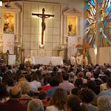 Miles de Jóvenes arropan la cruz y el icono de la JMJ2011 en Granada