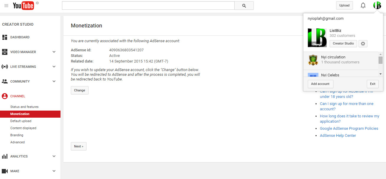 Why Youtube Analytics and Adsense Reports Analytical I