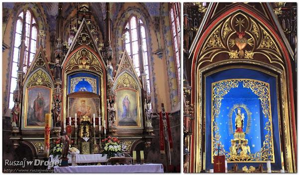 Sanktuarium w Swarzewie - Ołtarz Matki Boskiej Swarzewskiej