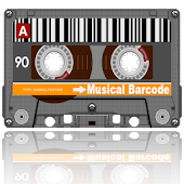 Musical barcode scanner