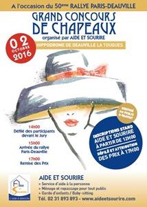 20161002 Deauville concours de chapeaux