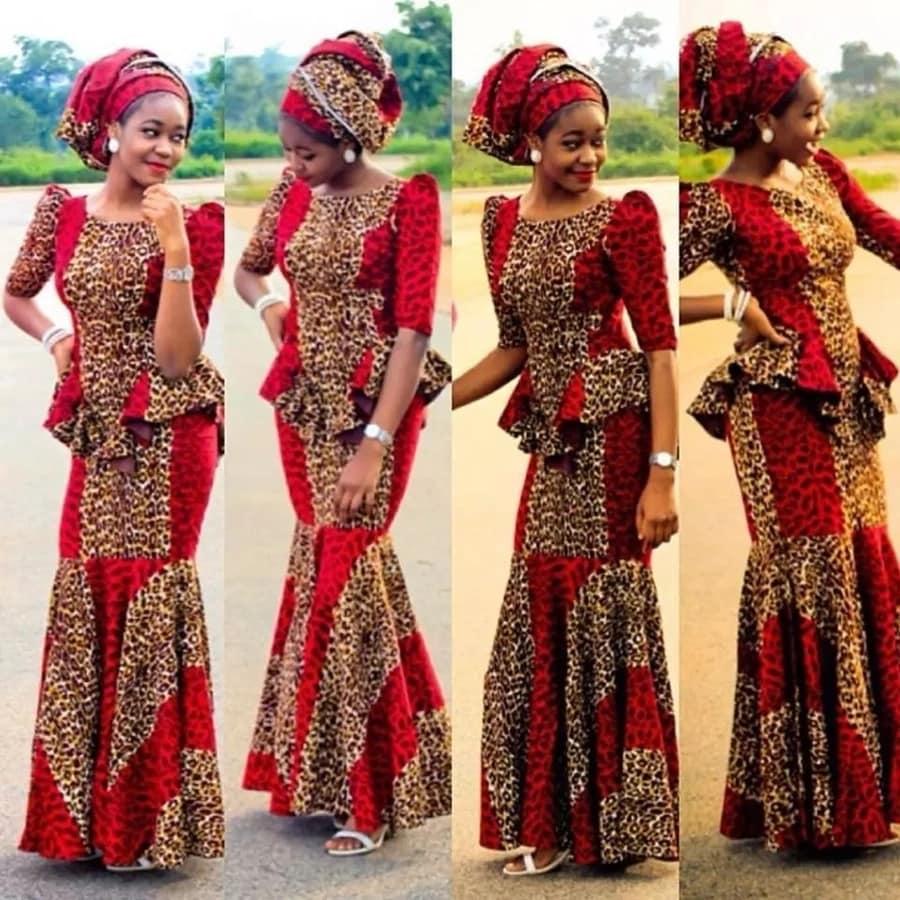THE LATEST KITENGE DRESSES_AFRICAN KENYA DESIGNS 2019 2