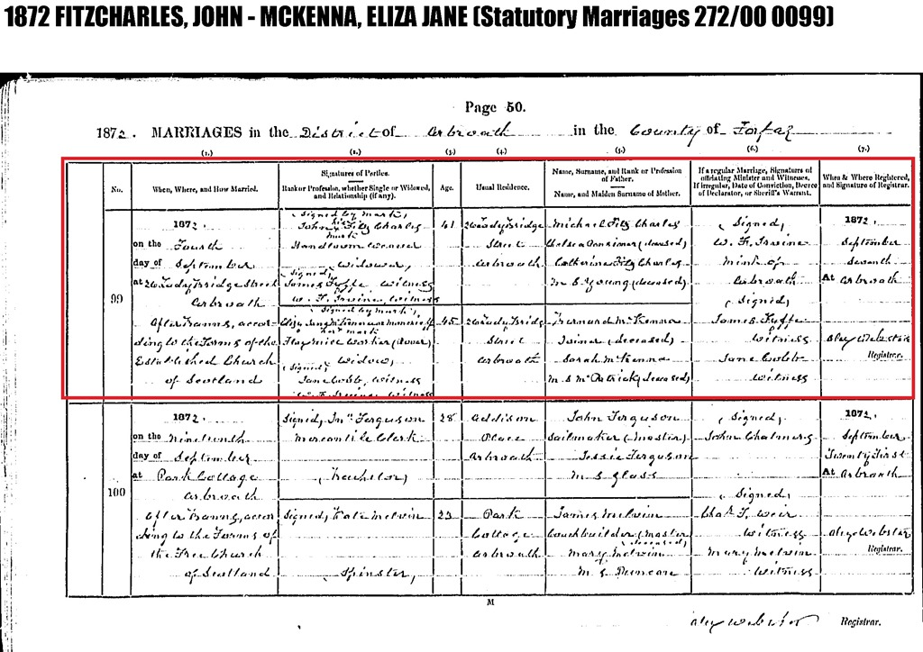 [FITZCHARLES_John+marriage+to+Eliza+Jane+McKenna+Montcrief_in+4+Sep+1872_from+Scotlands+People+site%5B10%5D]