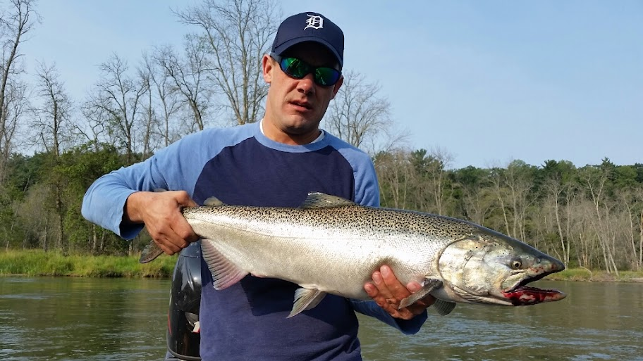 Big Manistee Fishing Guide Service